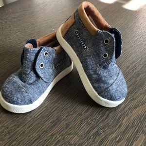 Denim jean sneaker/boots